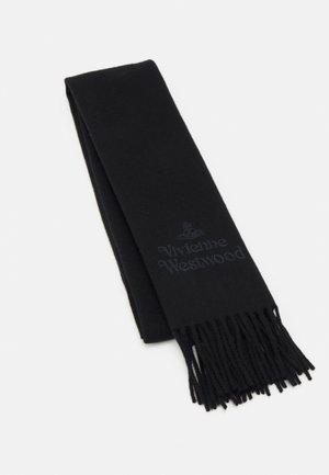EMBROIDERED SCARF UNISEX - Écharpe - black