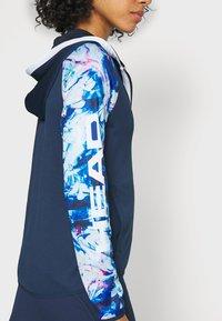 Head - ACTION HOODIE - Treningsjakke - dark blue/caleido royal - 4