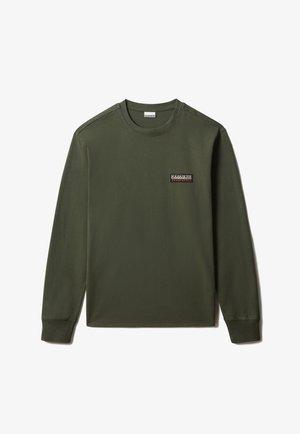 S-PATCH LS - Långärmad tröja - green depths