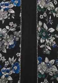 Pinko - ARRICCHITO ABITO BROCCATO - Day dress - black - 5