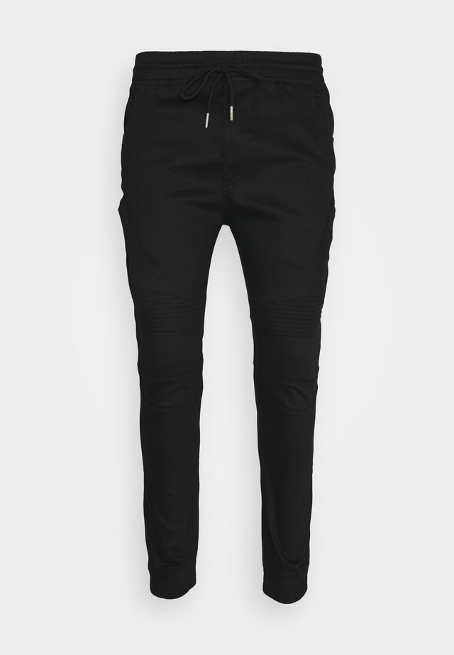 DAILY UTILITY JOGGERS - Cargo trousers - black