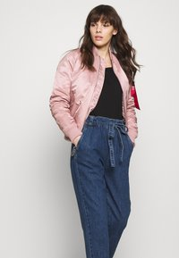 Alpha Industries - Bomber Jacket - silver pink - 4