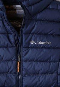 Columbia - POWDER LITE - Snowboard jacket - dark blue - 2