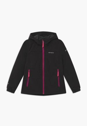 KAPPELN - Soft shell jacket - black