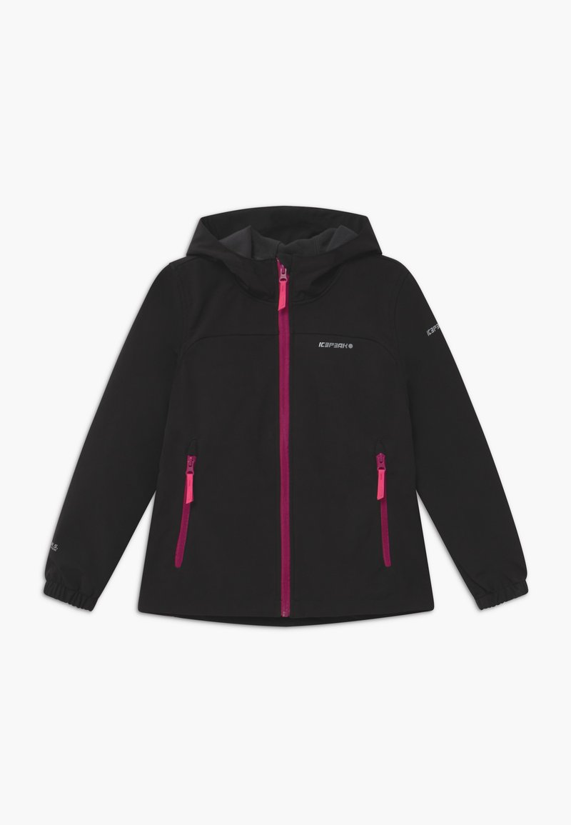 Icepeak - KAPPELN - Soft shell jacket - black