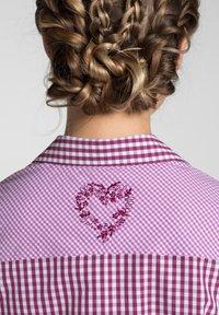 Spieth & Wensky - MALLORCA - Button-down blouse - berry - 3