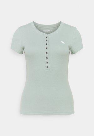 HENLEY - Basic T-shirt - green