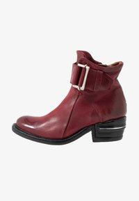 A.S.98 - Cowboy/biker ankle boot - cardinal - 1