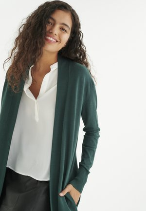 RENEE - Cardigan - warm green