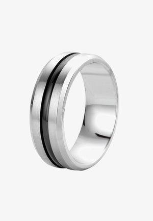 Ring - zilverkleurig/zwart