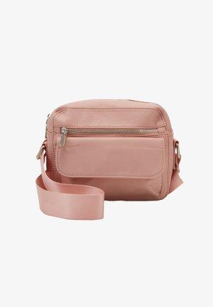HALLI - Across body bag - dusty pink