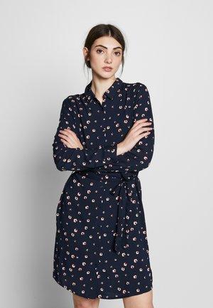 IHVERA - Day dress - dark blue/pink