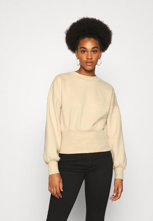 ONLLINA  HIGHNECK  - Sweater - beige