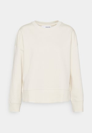 SLFLARNA  O NECK  - Sweatshirt - whisper white