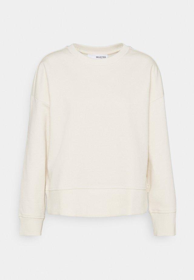 SLFLARNA  O NECK  - Sweatshirt - whisper white