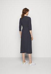 Lauren Ralph Lauren - MATTE DRESS - Jersey dress - navy/colonial - 2