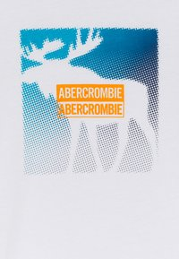 Abercrombie & Fitch - PRIMARY LOGO - T-shirt print - white - 2