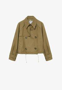 Mango - Summer jacket - khaki - 7