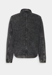 Carhartt WIP - STETSON JACKET PARKLAND - Giacca di jeans - black worn washed - 8