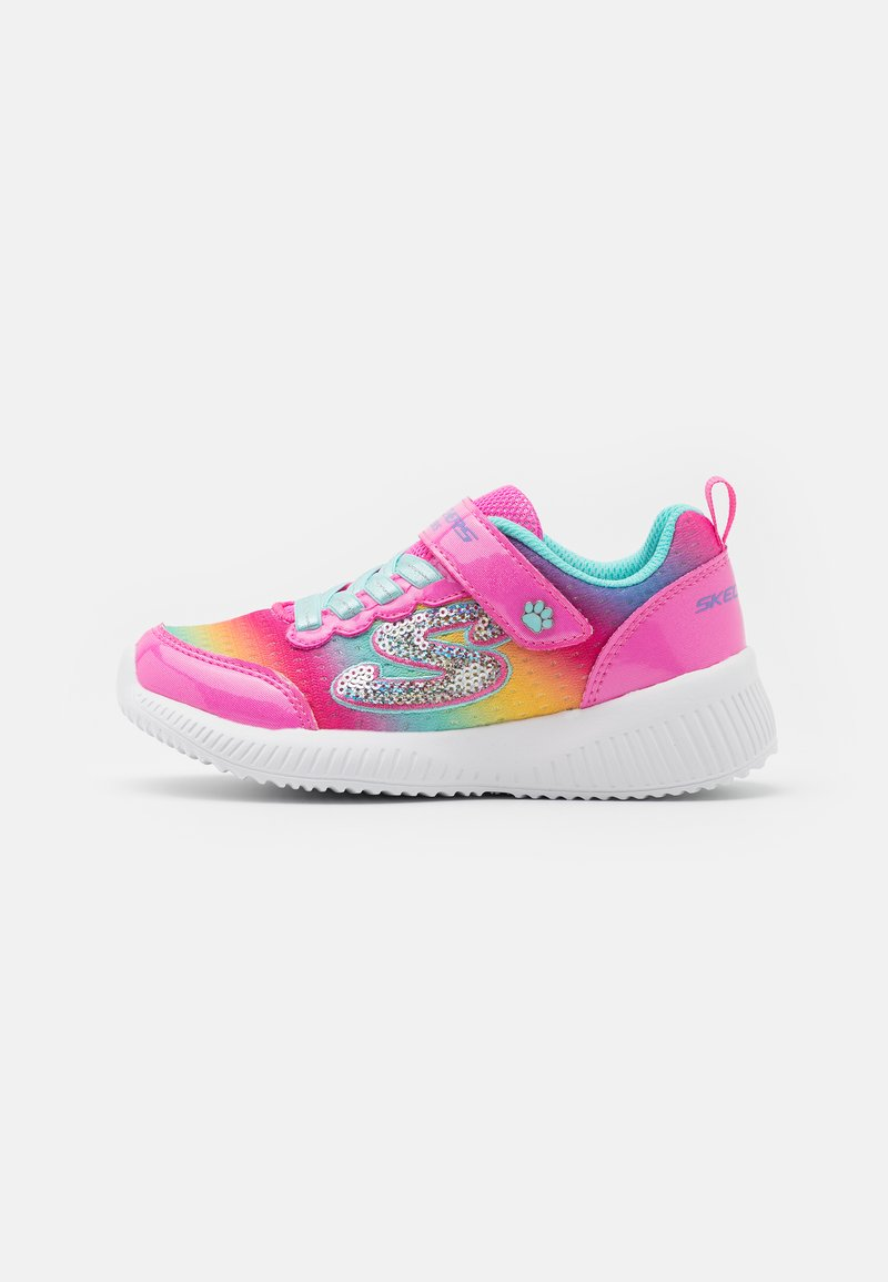 Skechers - BOBS SQUAD - Trainers - pink/turquoise