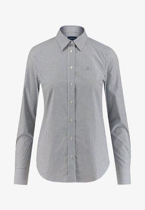 SLIM FIT - Button-down blouse - indigo
