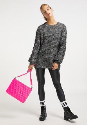 CLUTCH - Handbag - neon pink