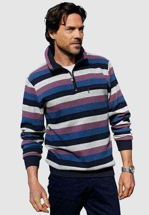 Sweatshirt - marineblau,royalblau,silbergrau