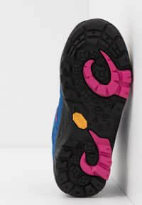 TrollKids - KIDS LOFOTEN MID - Hiking shoes - blue/magenta - 5