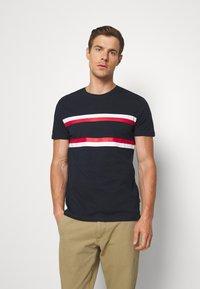 Pier One - T-shirt print - dark blue - 0
