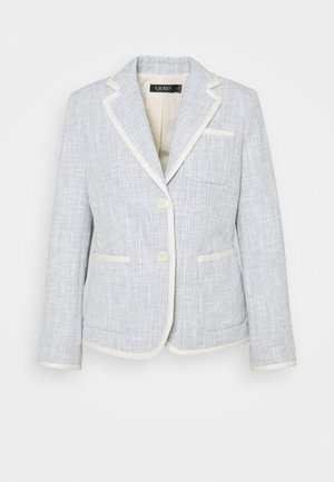 TEXTURED JACKET - Bleiseri - dust blue