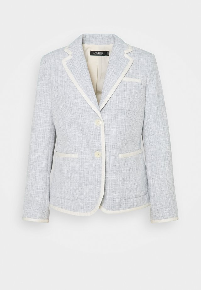 TEXTURED JACKET - Blazer - dust blue