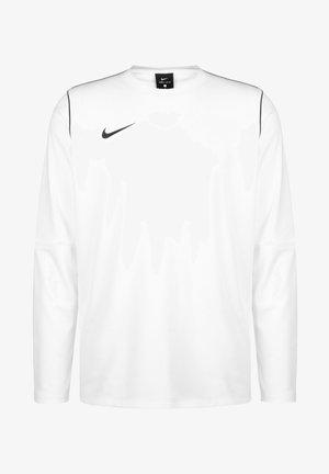 PARK 20 DRY CREW HERREN - Bluzka z długim rękawem - white / black