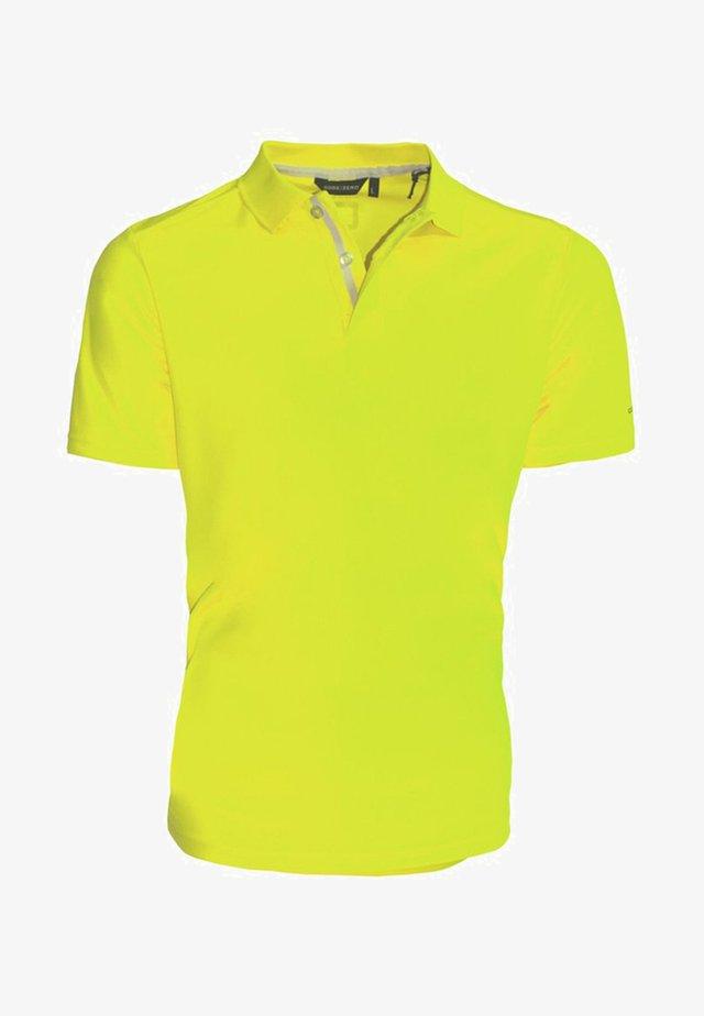 Polo shirt - neon yellow