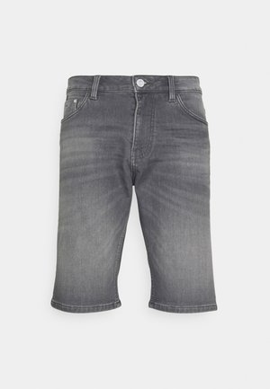 JOSH - Short en jean - clean light stone grey denim
