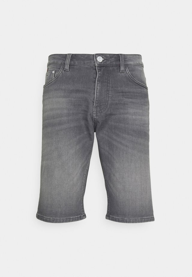 JOSH - Shorts di jeans - clean light stone grey denim