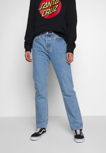 501® JEANS FOR WOMEN - Jeansy Straight Leg - luxor indigo