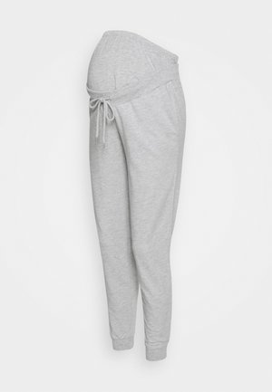 SLIM FIT JOGGERS - OVERBUMP - Pantalones deportivos - light grey