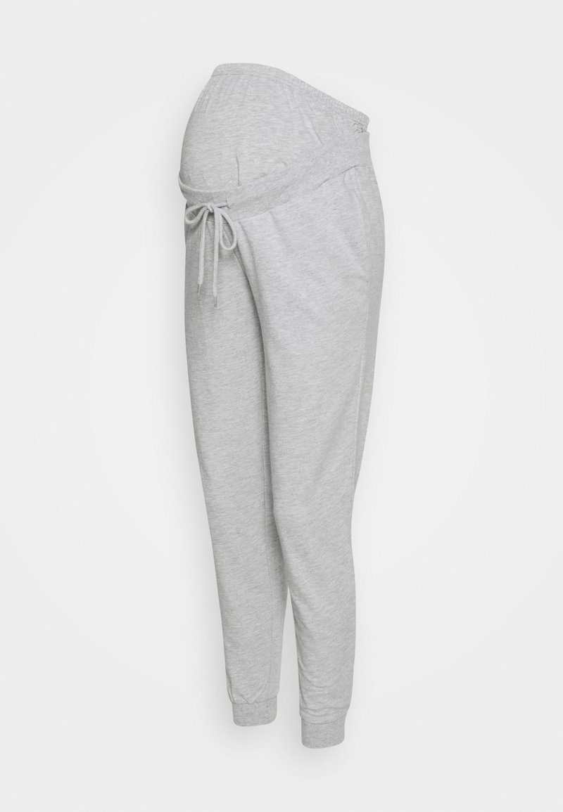 Anna Field MAMA - JOGGERS SLIM FIT - Tracksuit bottoms - light grey