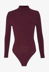 New Look - Topper langermet - dark burgundy - 3