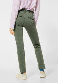 Cecil - MIT CARGO-TASCHEN - Cargo trousers - grün - 2