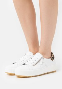 Gabor Comfort - Sneakers laag - white/natur - 0