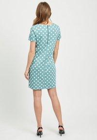 Vila - VITINNY - Shift dress - turquoise - 2