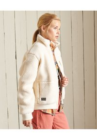 Superdry - SHERPA - Fleece jacket - pale oatmeal - 3