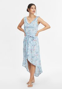 O'Neill - Day dress - blue with pink or purple - 1