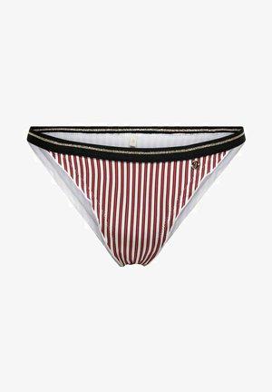 Braguita de bikini - mars red