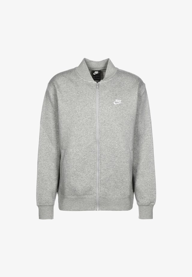 M NSW CLUB - Zip-up hoodie - dark grey heather / white