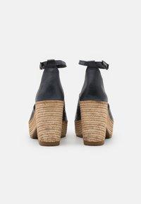 Felmini - MESHA - High heeled sandals - black - 3