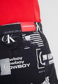 Calvin Klein Jeans - PUNK SKIRT - Jeanskjol - black - 5