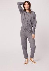 Morgan - HOSEN - Leggings - Trousers - mottled grey - 1