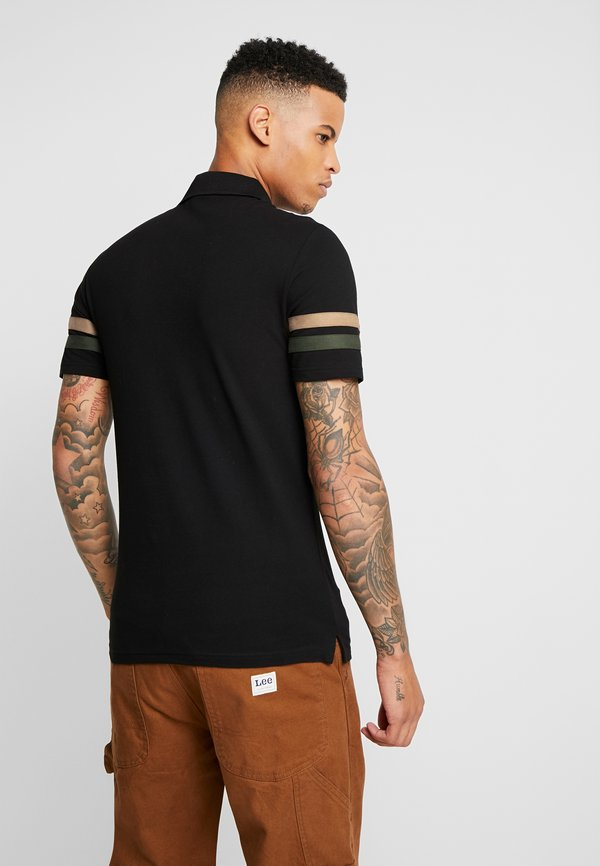 Zign Koszulka polo - black/czarny Odzież Męska LLCR